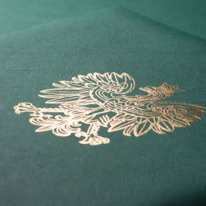 Hotstamping and embossing